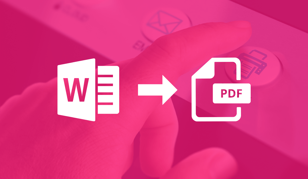 Convertir de Word a PDF